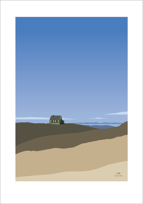 House on the hill - poster