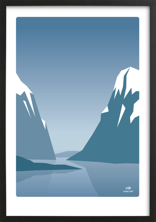 Twin Peaks - Norwegian mountains poster