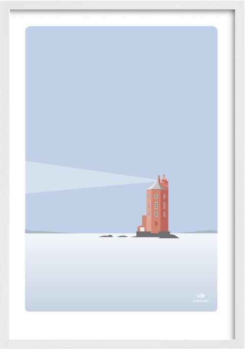 The Misty Lighthouse – Kjeungskjaer, Norway