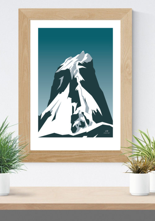 The Norwegian Mountain Peak