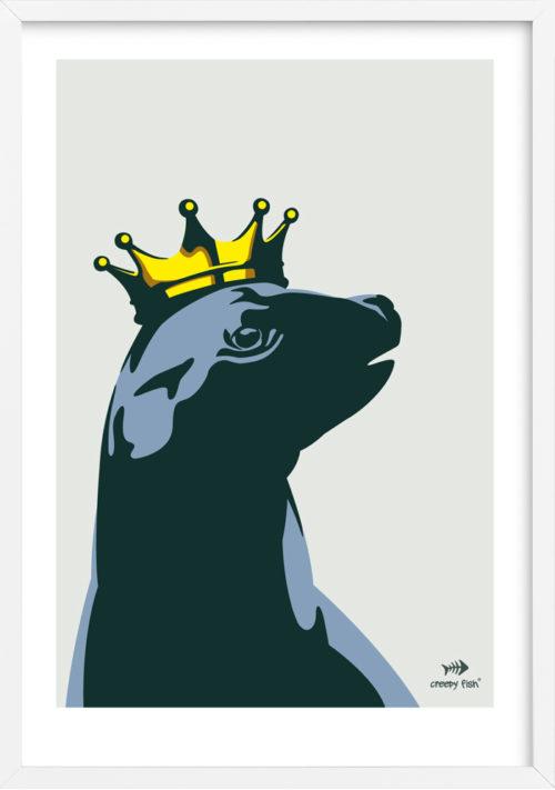 Pretty Majestic - Royal Seal poster