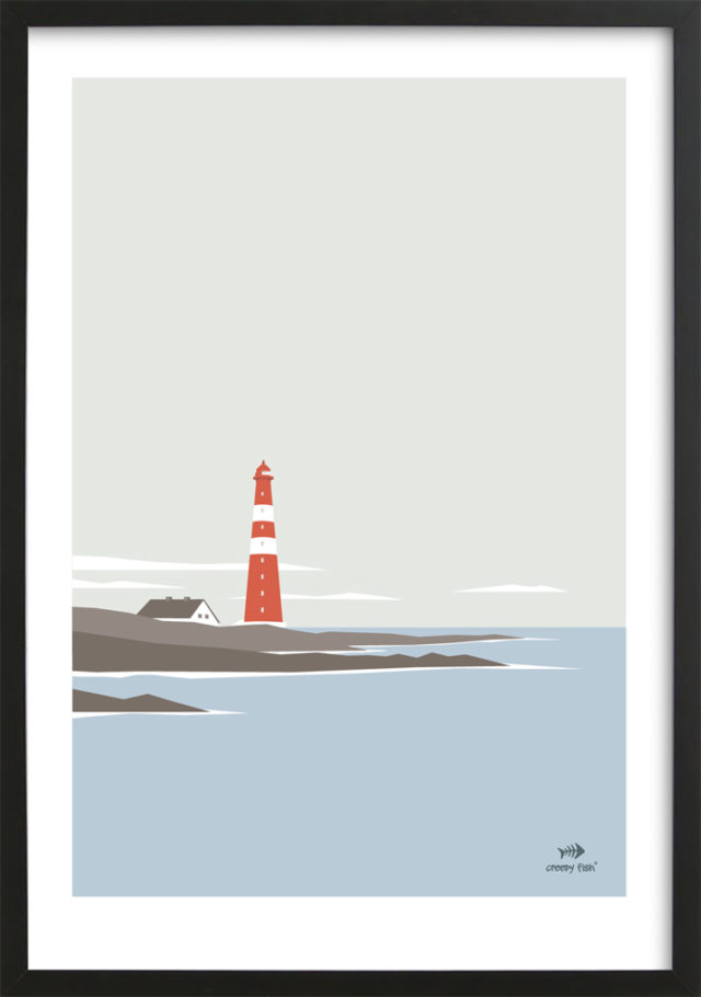 Lighthouse of the north - limited edition poster