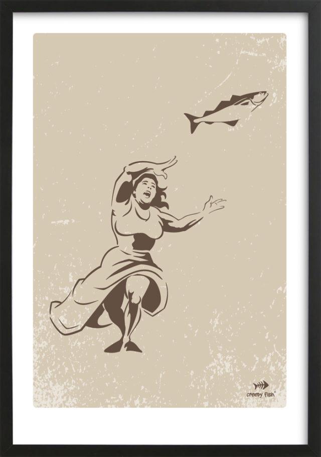 Mad woman - bad fish