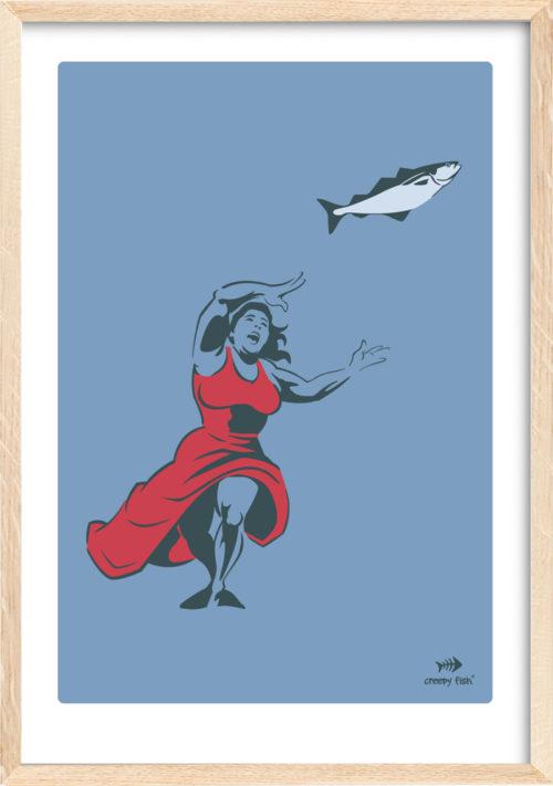 Mad woman - Bad fish, vibrant edition