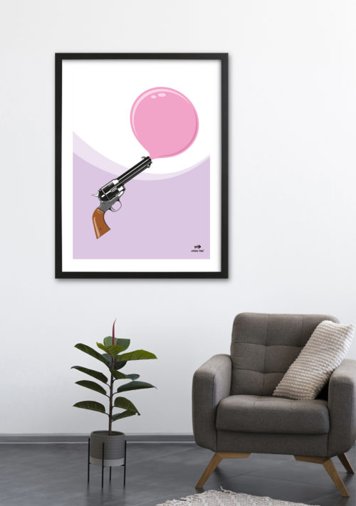 The Blowpang limited edition print